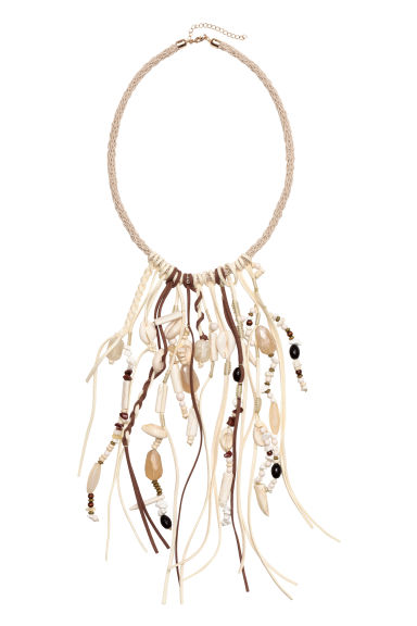 Necklace with shells - Natural white - Ladies | H&M CN 1