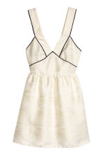 Jacquard-weave dress - Natural white - Ladies | H&M CN 2