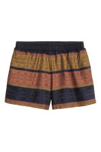 Striped shorts - Multicoloured - Ladies | H&M CN 2