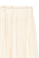 Gonna in satin - Bianco naturale - DONNA | H&M IT 3