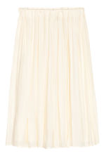 Gonna in satin - Bianco naturale - DONNA | H&M IT 2