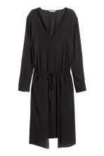 Viscose dress - Black - Ladies | H&M CN 2