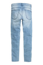 Skinny Regular Biker Jeans - Light denim blue - Men | H&M CN 2