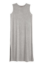H&M+ Sleeveless dress - Grey marl - Ladies | H&M CN 2