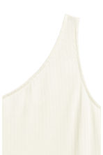 Top monospalla - Bianco naturale - DONNA | H&M IT 3