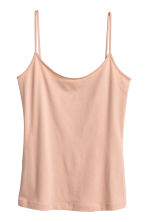 Basic top - Beige -  | H&M CN 3