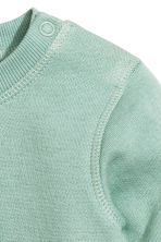 Sweatshirt - Mint green - Kids | H&M CN 2