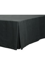 Valance, double - Anthracite grey - Home All | H&M CN 1