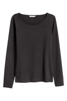 Top in pima cotton