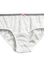 5-pack briefs - Dark grey/Spotted - Kids | H&M CN 2