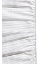 Fitted sheet - Grey/Striped - Home All | H&M CA 2