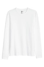 T-shirt Slim fit - Bianco - UOMO | H&M IT 2