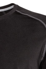 Sports top - Black -  | H&M 5