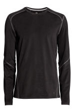 Sports top - Black -  | H&M 4