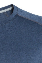 Sports top - Dark blue marl - Men | H&M 4