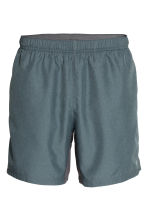 Running shorts - Dark grey marl - Men | H&M CN 2