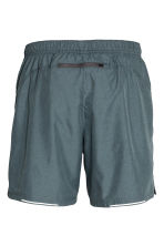 Running shorts - Dark grey marl - Men | H&M CN 3