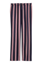 Pyjama bottoms - Dark blue/Striped - Ladies | H&M CN 2