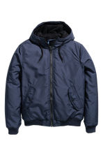 Padded jacket - Dark blue - Men | H&M 2