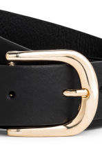 Belt - Black/Gold - Ladies | H&M 3