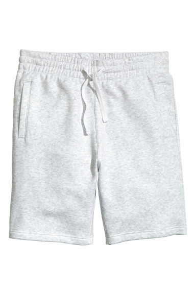 Sweatshirt shorts - Light grey - Men | H&M CN 1