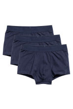 3-pack trunks - Dark blue - Men | H&M 2