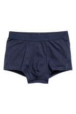 3-pack trunks - Dark blue - Men | H&M 3