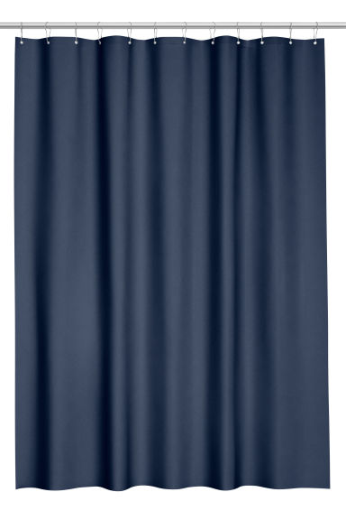 Shower curtain - Dark blue -  | H&M IE