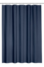 Shower curtain - Dark blue - Home All | H&M CA 1
