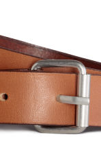 Leather belt - Light brown - Ladies | H&M CN 2