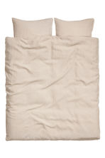 Set copripiumino lino lavato - Beige lino - HOME | H&M IT 2