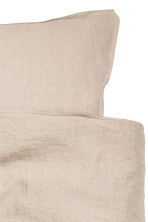 Set copripiumino lino lavato - Beige lino - HOME | H&M IT 3