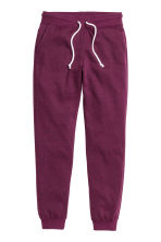 Sweatpants - Plum -  | H&M CN 2