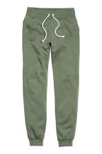 Sweatpants - Khaki green -  | H&M 3