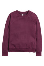 Sweatshirt - Plum - Ladies | H&M CN 2