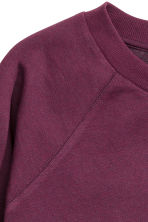 Sweatshirt - Plum - Ladies | H&M CN 3