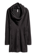 Knitted dress - Black - Ladies | H&M CN 2