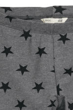 Jersey leggings - Dark grey/Stars - Kids | H&M 3
