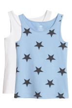 Light blue/Stars