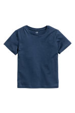 2-pack T-shirts - Dark blue - Kids | H&M CN 3