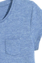 Cotton top - Blue marl - Kids | H&M CN 2