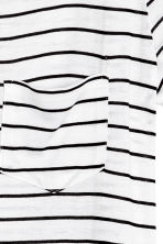 Jersey top - White/Striped - Ladies | H&M CN 3