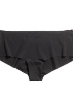 2-pack microfibre shorts - Black - Ladies | H&M CN 4