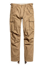 Cargo trousers - Dark beige - Men | H&M 2