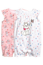 2-pack all-in-one pyjamas - Light pink/Aristocat - Kids | H&M CN 1