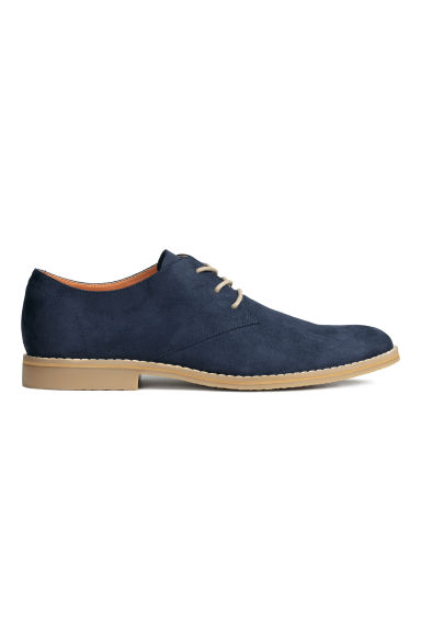 Derby shoes - Dark blue - Men | H&M CN 1