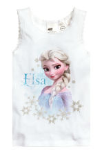 2-pack tops - White/Frozen - Kids | H&M 3