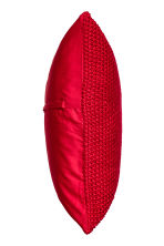Moss-knit cushion cover - Red - Home All | H&M CN 2
