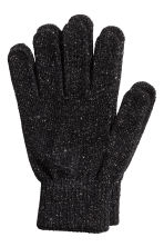 2-pack gloves - Grey marl/Black - Ladies | H&M 2