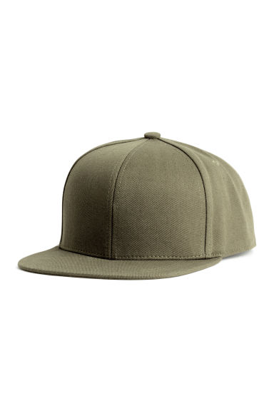 Cotton-blend cap - Khaki green - Men | H&M CN 1